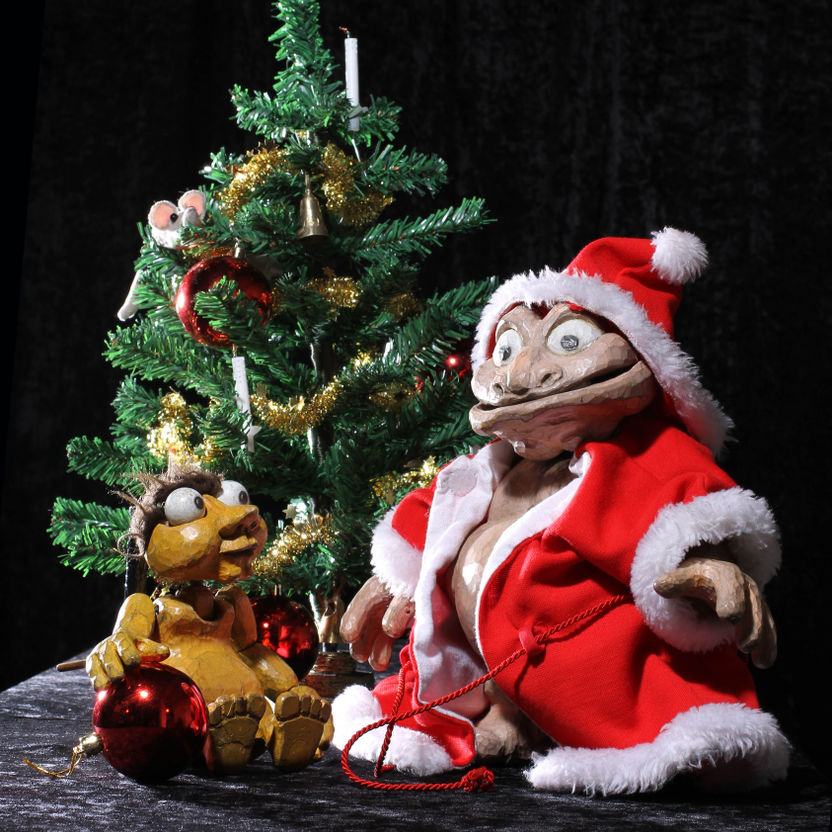 Weihnachten Beim Großen Bo Und Kleinen Pizzico Hamburger Puppentheater
